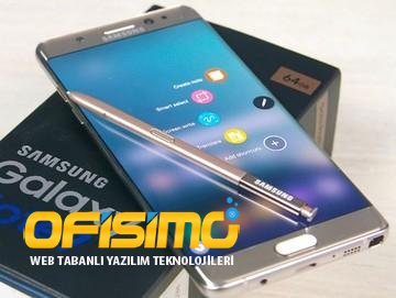 Galaxy Note 7 Faciası  perde arkası!