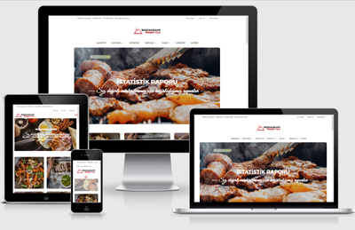 Restaurant E-Ticaret Simple v3.0