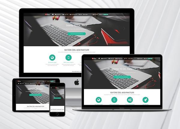 Ajans  Hazır Web Sitesi Satış Paketi  v2.0