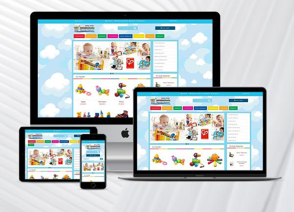 E-Ticaret Paketi (Toys  Home)