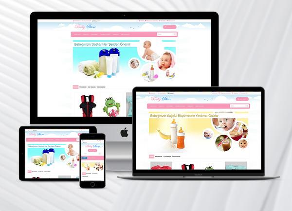 E-Ticaret Paketi Baby Kids v2.