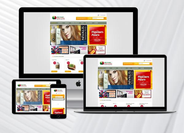 Ürün Tanıtım ve Sipariş Web Paketi Healt v2.5