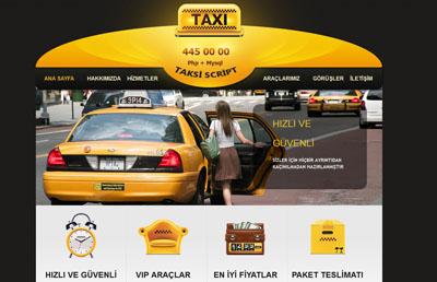 Taksici Web Paketi v1.5