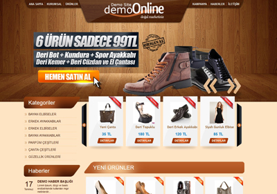 Ürün Tanıtım Mini Ticaret
