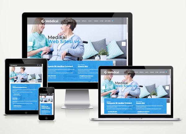 Medikal Web Sitesi Paketi Eter