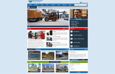 Belediye Sitesi Web Paketi v2.