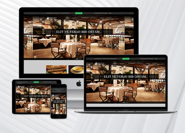 Restaurant Web Paketi Blacklif