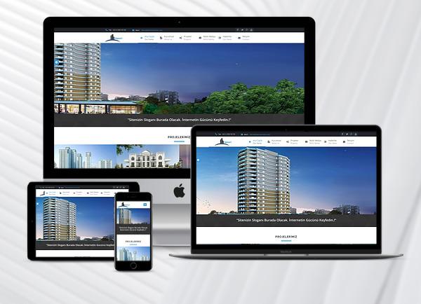 İnşaat Web Paketi Premium v2