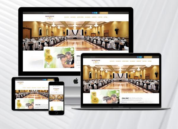 Düğün Salonu Web Paketi Hal