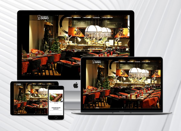 Restaurant Web Paketi Rose  v2.5