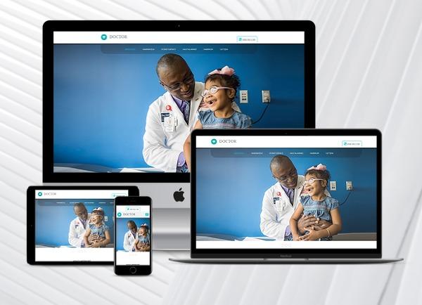 Doktor / Klinik Web Paketi Wel