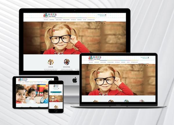Kreş / Ana Okulu Web Paketi C