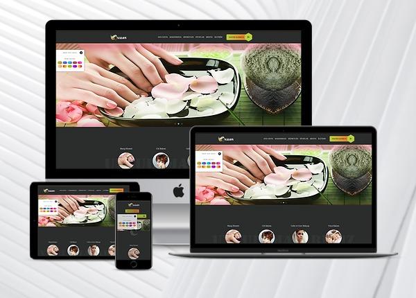 Kuaför - Güzellik Salonu Web