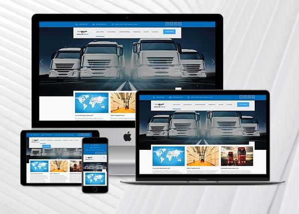 Nakliyat / Lojistik Web Paketi