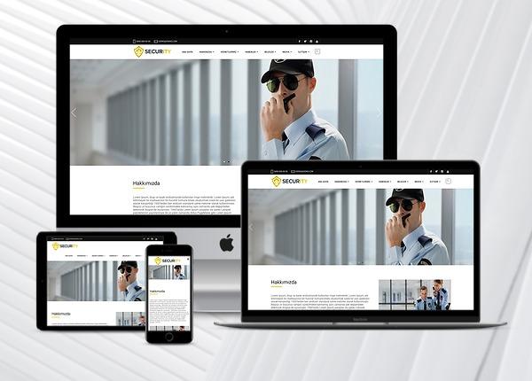 Güvenlik Firması Web Paketi