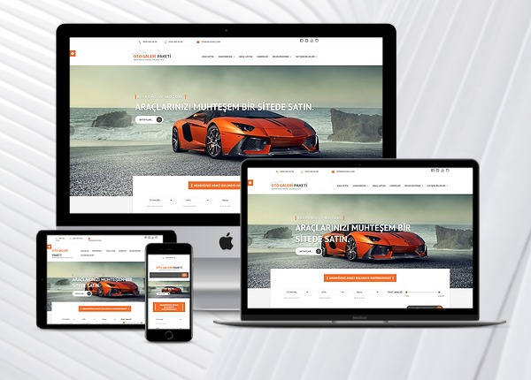 Oto Galeri Web Paketi Motors v