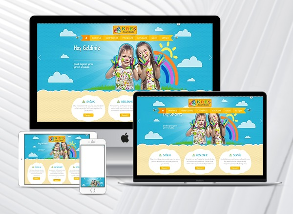 Kreş / Ana Okulu Web Paketi K