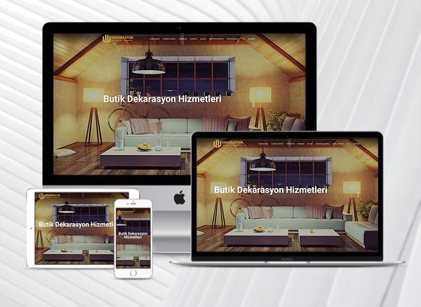 Dekorasyon - Mimari Web Paketi