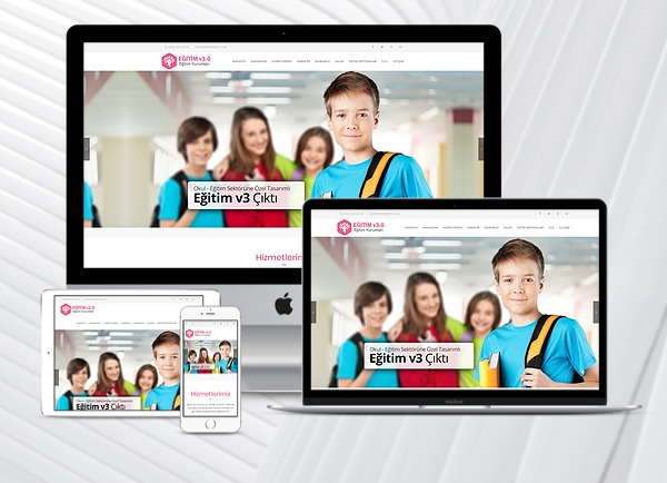 Eğitim Kurumları Web Sitesi Educat v3.0