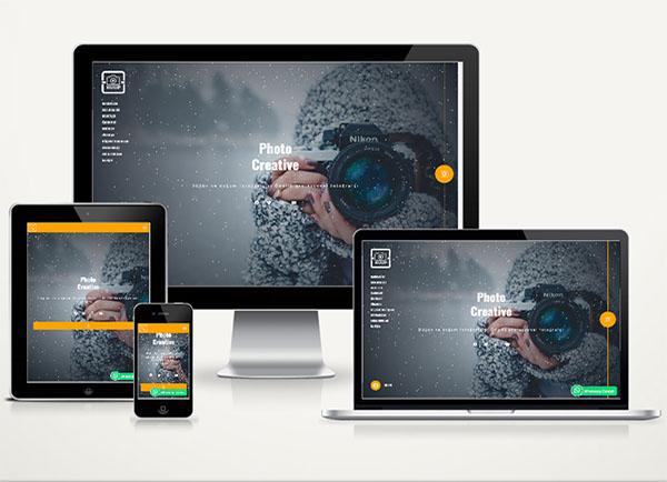 Fotoğrafçı / Kişisel Web Paketi Pixel v4.5