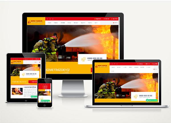Yangın Söndürme Firma Paketi Fire v4.5