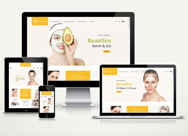 E-Ticaret Kozmetik Paketi Beau