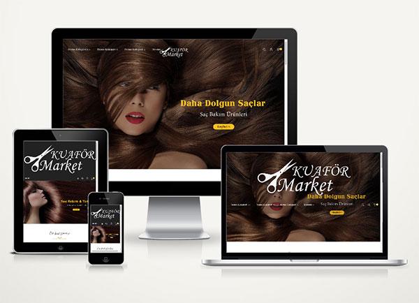 E-Ticaret Kuaför Paketi Hair