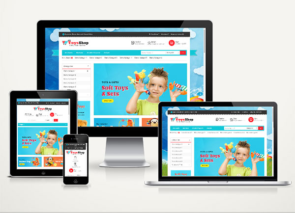E-Ticaret Paketi Kids Shop v4.