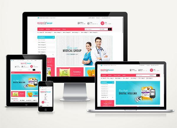 E-Ticaret Web Paketi Medikal v