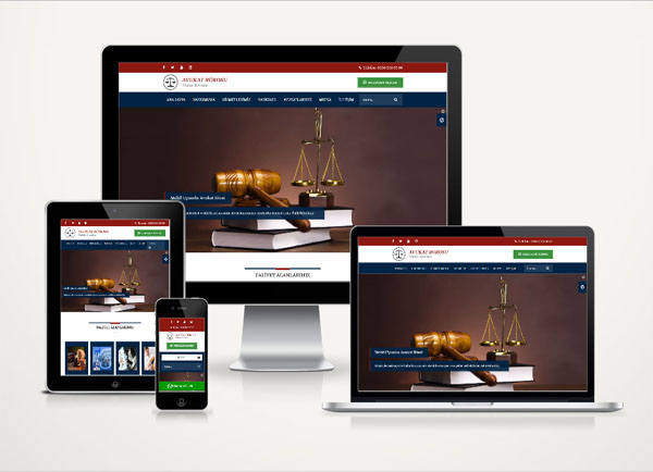 Hukuk/ Avukat Web Paketi Firm
