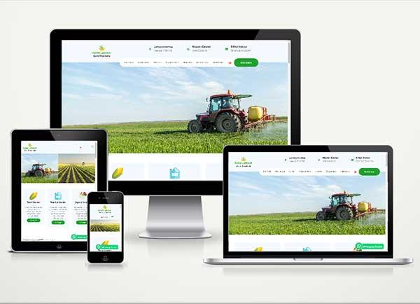 Tarım Ziraat Web Sitesi Paketi Land v4.5