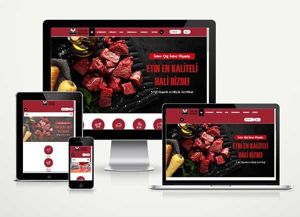 Kasap E-Ticaret Paketi Steakhouse v4.5