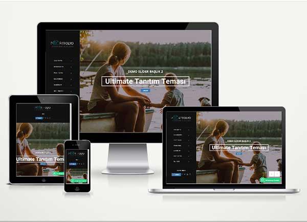 Kişisel / Fotoğrafçı Web Paketi Studio v4.5