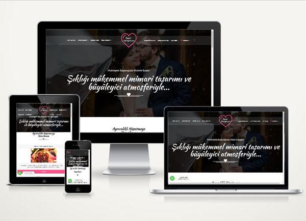 Düğün Salonu Web Paketi Lov