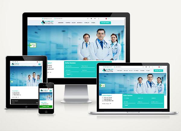 Doktor / Klinik Web Sitesi Pak