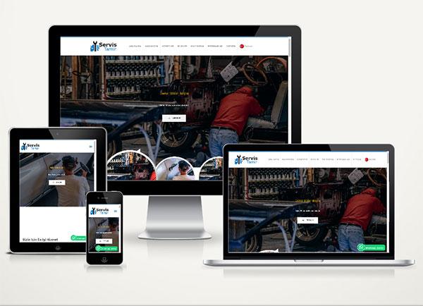 Servis / Tamirci Web Sitesi Pa