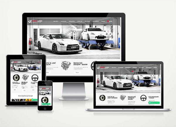 Kurumsal Web Sitesi Paketi Autocar v4.0
