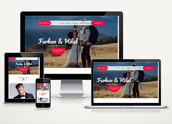 Sevgililer Günü Web Sitesi L