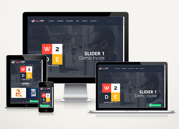 Kurumsal Web Sitesi Paketi Design v4.5