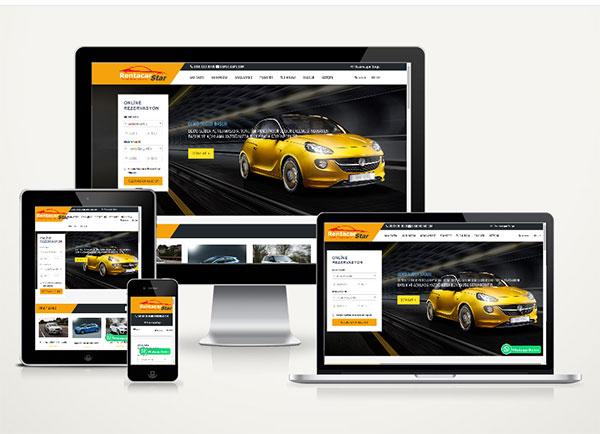 Rent A Car Web Paketi Star v4.