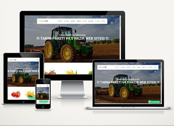 Tarım Zıraat Web Sitesi Print v4.5