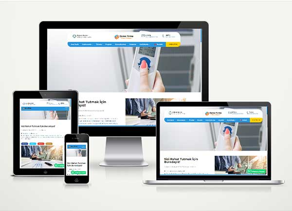 Klima Teknik Servis Web Paketi Air v4.5