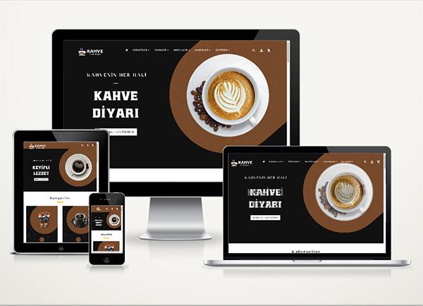 Kahve / Kuruyemiş E-Ticaret Paketi Tria v4.5