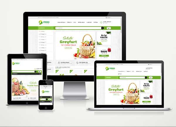 Organik Pazar E-Ticaret Paketi Fresh v5.0