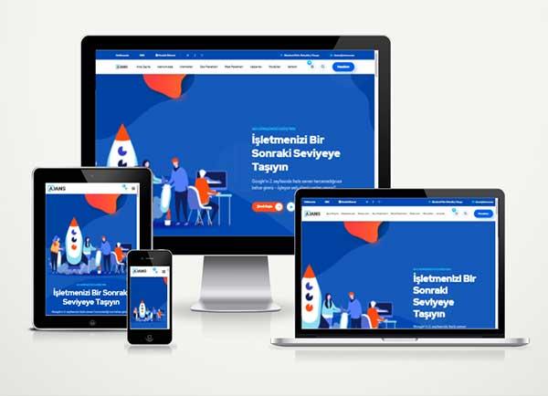 Ajans Hazır Web Sitesi Satış Paketi Port v5.0