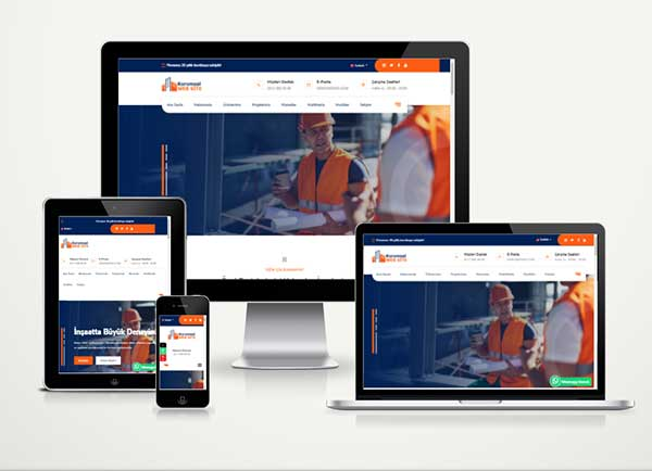 İnşaat / Mimarlık Web Paketi Expert v5.0
