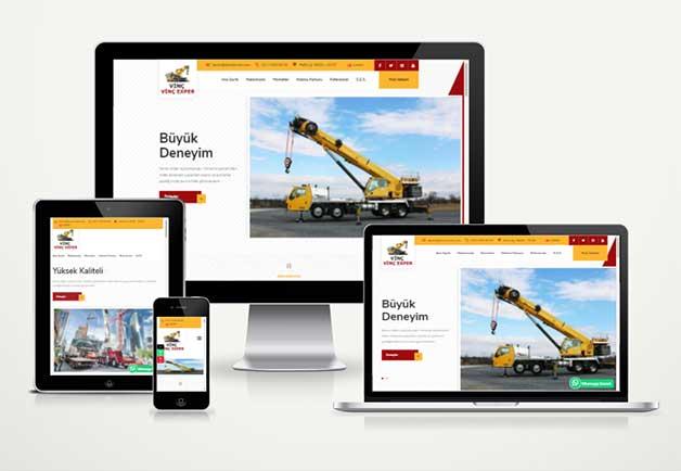 Vinç Firma Web Paketi Crane v5.0