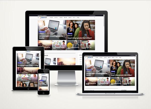 Blog Web Paketi Vuzy v3.0