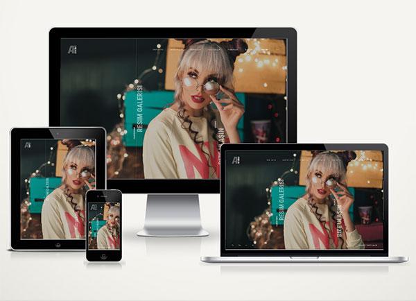 Fotografcı Creative Web Sitesi v.4.0